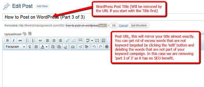 how to post on wordpress