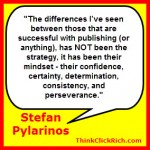 Stefan Pylarinos Self Publishing Success