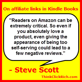 Steve Scott Affiliate Links