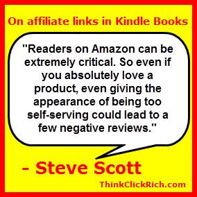 Steve Scott Affiliate Links