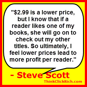 Steve Scott Books and Pricing