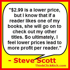 Steve Scott Books and Pricing