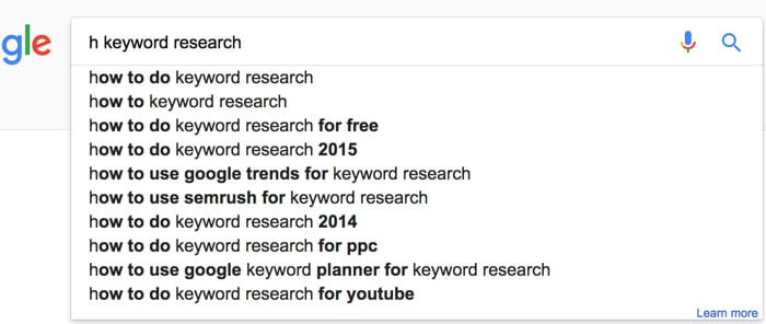 google auto suggest keyword tool