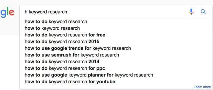 google auto suggest keyword tool