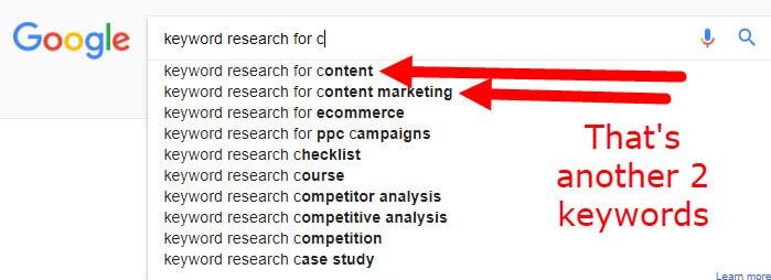 how do i find keywords for my website